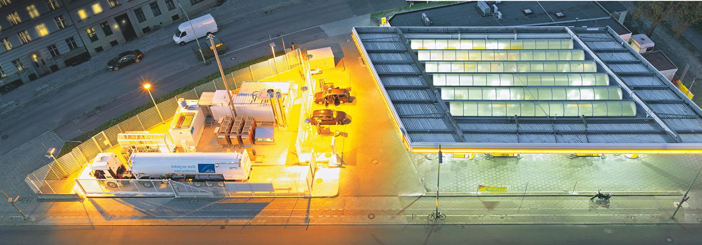 Hydrogen fueling station Berlin, Germany