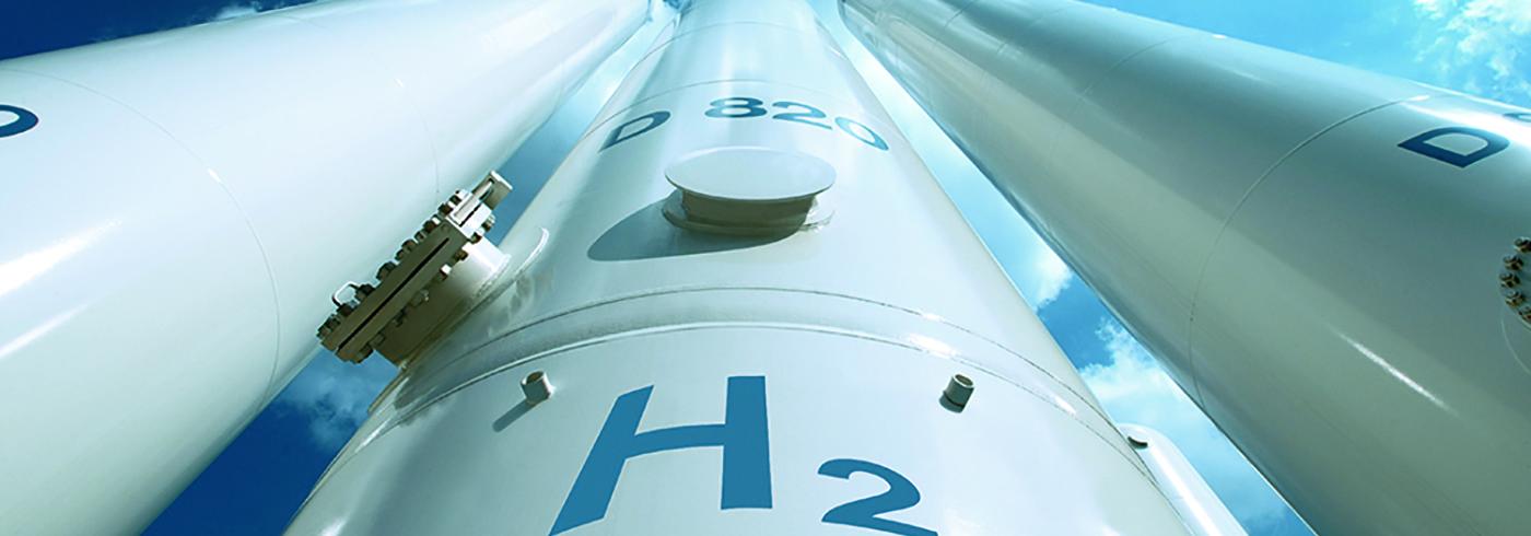 Linde hydrogen storage tanks