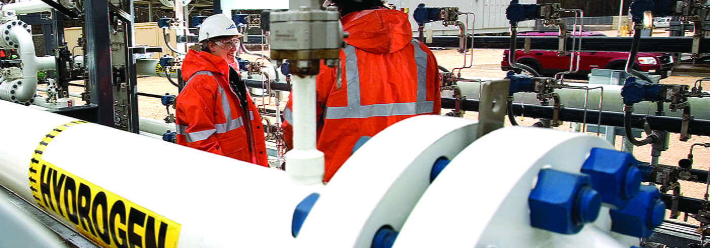 Hydrogen product transfer pipeline