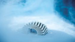 Nitrogen Parts Freezing