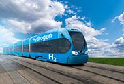 Commuter rail powered by hydrogen