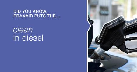 Praxair puts the clean in diesel