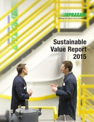 Praxair 2015 Sustainable Value Report