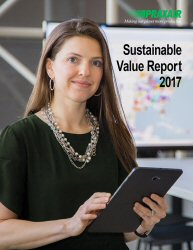 2017 Sustainable Value Report Cover