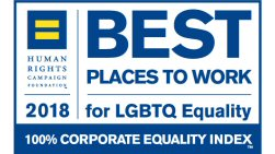 Corporate Equality Index (CEI) - Best Placed to work for LGBTQ