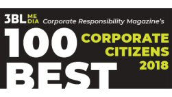 Corporate Responsibility Magazine's 100 Best Corporate Citizens Logo
