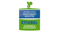 Ethibel Pioneer and Excellence Investment Registers Logo