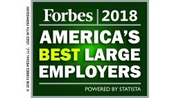 Forbes' America's Best Employers List 2016 Logo