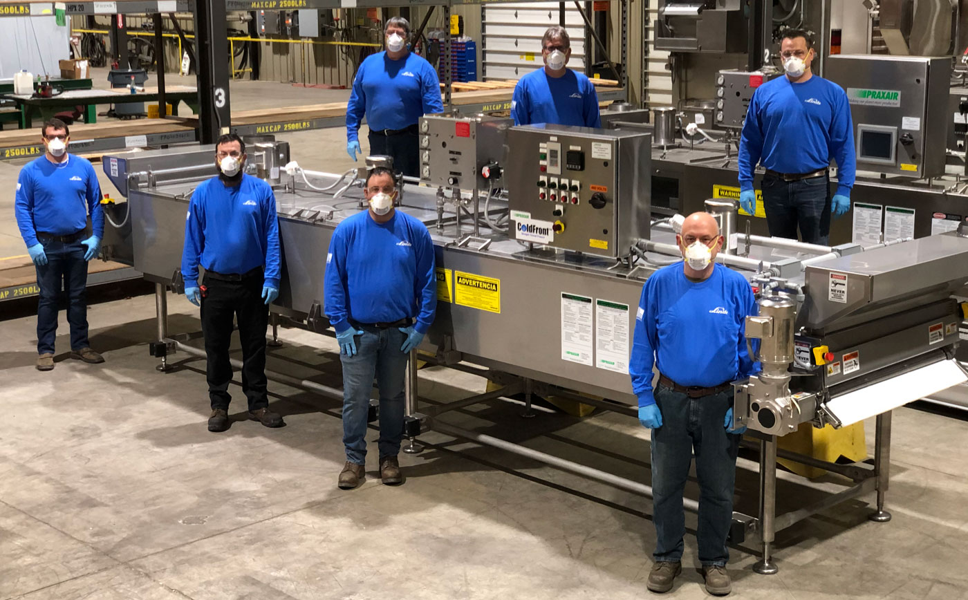 The Linde Gases US team from Wooster Ohio