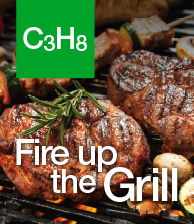 C3H8 Fire up the Grill