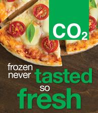 CO2 Frozen Never Tasted so Fresh