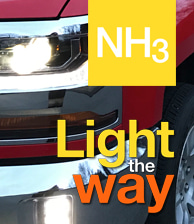 NH3 Light the way