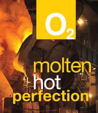 O2 Molten Hot Perfection