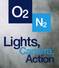 O2 N2 Lights Camera Action