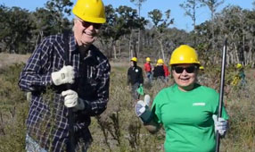 Praxair supports the Arbor Day Foundation