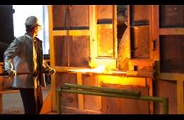 Haynes International Steel AOD Video Image