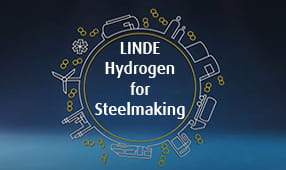 Linde Hydrogen for Steelmaking