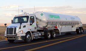 Praxair Tanker Truck